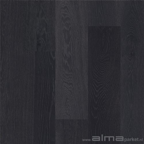 Hout 13050 houtsoort eiken plank planken tapis multiplank duoplank lamel kleur wit grijs zwart - Houtkleur zwart ...