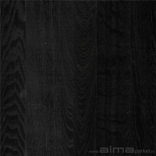 Houten vloer 3350 alma parket - Planken zwarte ...