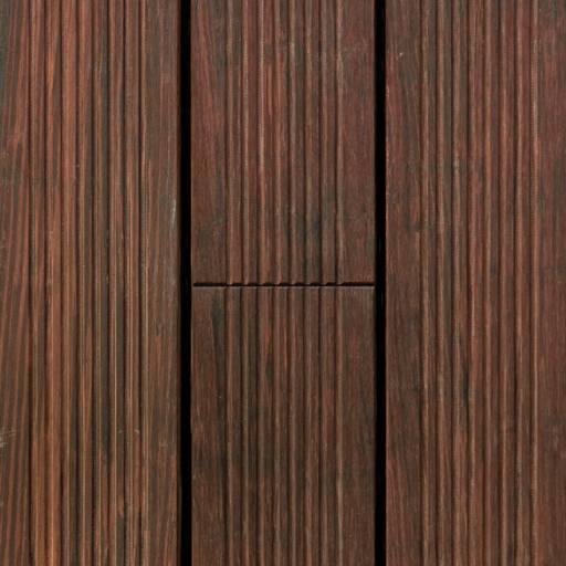 ALMA PARKET VLOEREN BREDA Bamboe terras X treme geribbeld