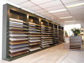 Showroom ALMA PARKET vloeren breda
