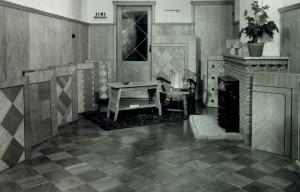 ALMA PARKET VLOEREN BREDA historie 1950 showroom