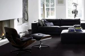 Piet Boon kleur Coal patroon Linear style