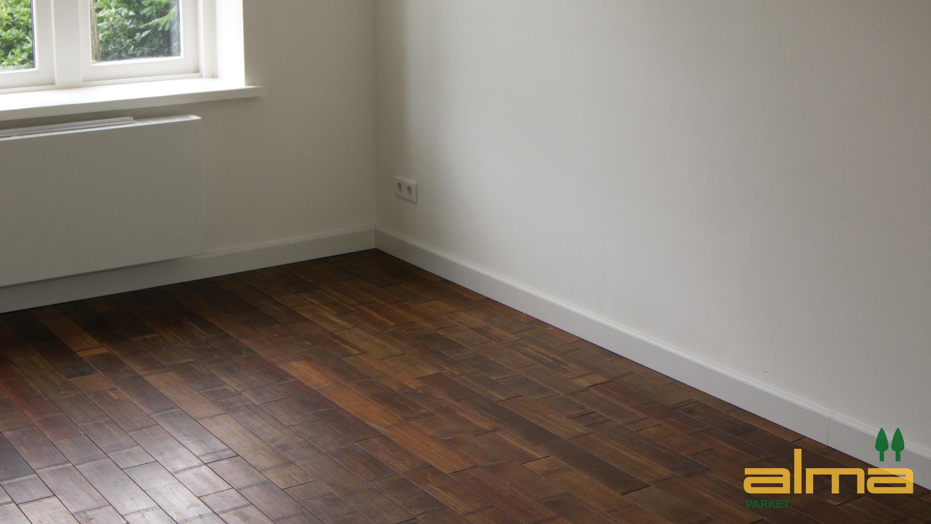 Bamboe Houten Vloer : Houtsoort bamboe forest stroken alma parket houten vloeren