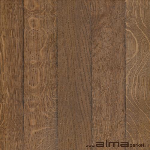 HOUT 19250 houtsoort EIKEN plank planken tapis multiplank duoplank lamel kleur rood gerookt bruin olie lak naturel ALMA PARKET VLOEREN BREDA