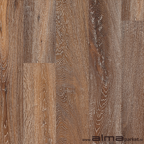 HOUT 19650 houtsoort EIKEN plank planken tapis multiplank duoplank lamel kleur rood gerookt bruin olie lak naturel ALMA PARKET VLOEREN BREDA