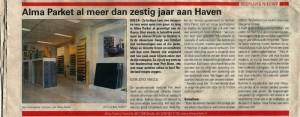 ALMA PARKET Weekblad de bode