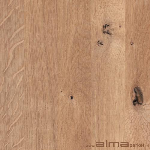 Eiken HOUT houtsoort plank planken tapis multiplank duoplank  patroon lamel kleur wit olie lak was ALMA PARKET VLOEREN BREDA