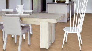 Piet Boon shell visgraat herringbone patroon vloer