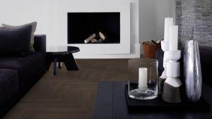 Piet Boon terra visgraat enkelverband herringbone patroon vloer