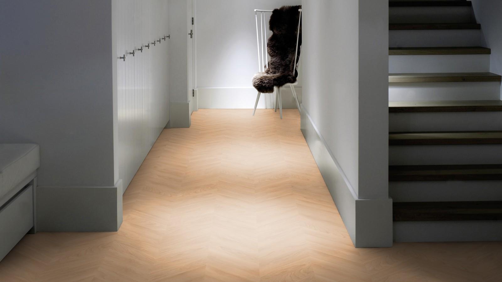 Piet boon parket vloeren shell chevron hongaarse punt patroon vloer